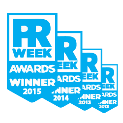 Four years of PRWeek Awards success