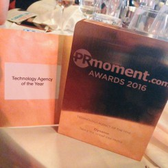 Dynamo wins Technology Agency of the Year at PRMoment Awards