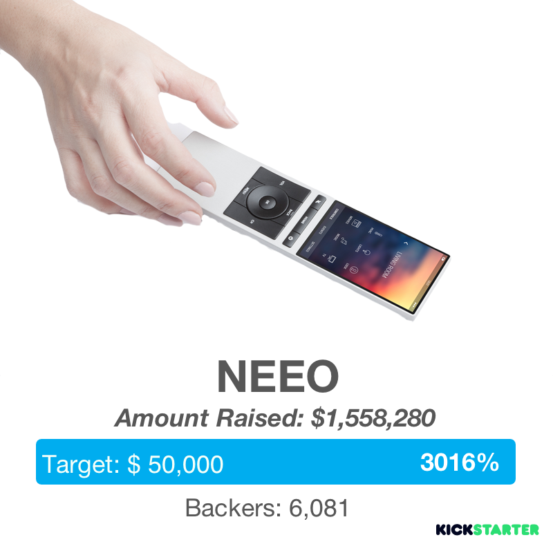 NEEO the Smart Thinking Remote