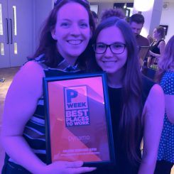 Dynamo wins at the PR Week Best Places To Work Awards