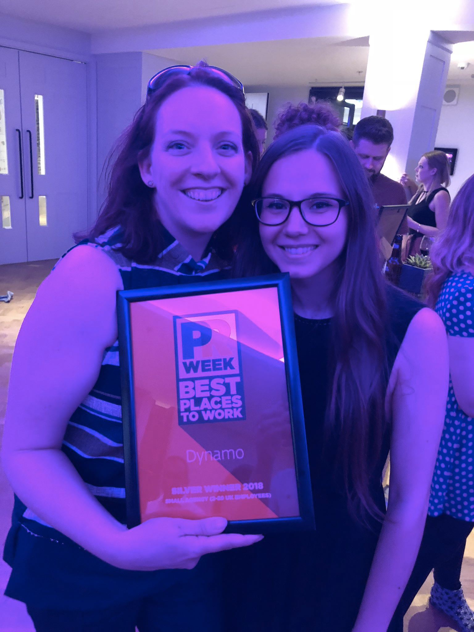 Dynamo at PR Week Awards Best Places To Work 2018